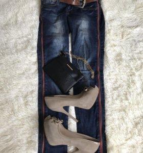 Джинсы+туфли