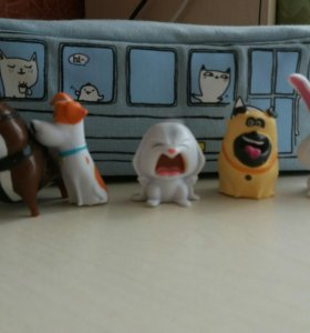 Игрушки из киндера Тайная Жизнь Домашних Животных