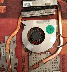куллер и радиаторы ноутбука