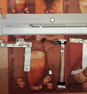 панель, кнопки и шлейф ноутбука