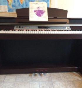 Фортепиано цифровое medeli dp-60 педали стойка
