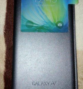 Чехол S View Cover galaxy a7