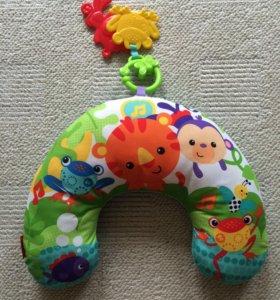 Музыкальная подушка для малышей с вибрацией.