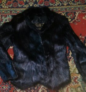 Меховая куртка из нутрии.