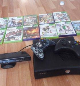 Xbox360 + Кинект+ игры
