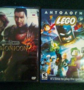 2 диска с играми