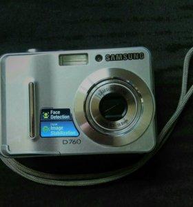 Фотоаппарат+карта памяти
