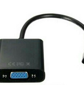 Конвертер-переходник micro HDMI - VGA