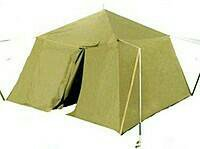 Палатка лагерная солдатская (ПЛС)