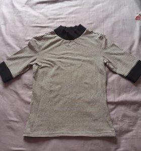 Кофта футболка укороченная monki