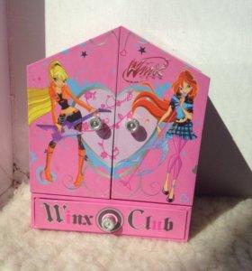 Музыкальная шкатулка Winx