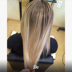 Окрашивание, мелирование волос