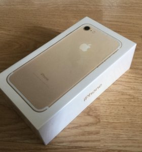 iPhone 7, gold,32gb
