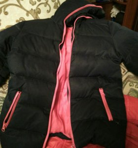 Зимняя куртка на девочку 8-10 лет