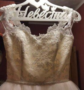 Платье свадебное (торг)