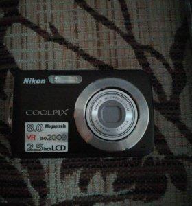 Цифровой фотоаппарат Nikon s210
