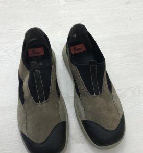 Обувь мужская 41 размер замша натуральная (новые)