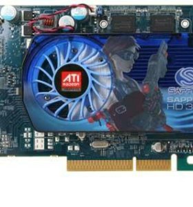 Видеокарта для AGP разъема Sapphire Radeon HD 3650