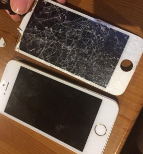 Замена экрана на айфонах