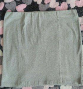 Трикотажная юбка оджи