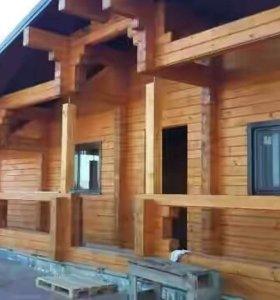 Строительство домов.