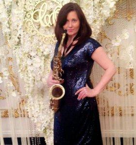 Саксофонистка на Ваш праздник!