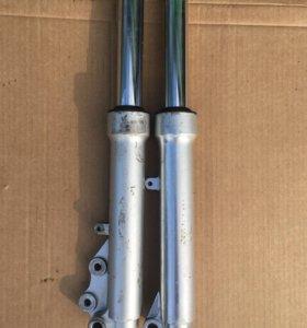 Stels vortex 50 передние амортизаторы