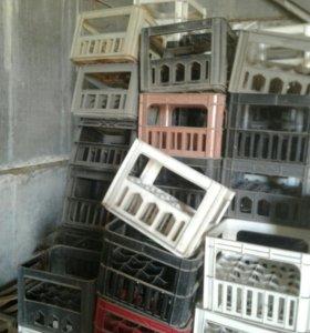 Ящики пластиковые для бутылок