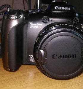 Фотоаппарат canon povershot s×20 is digital camera