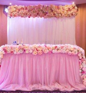Оформление свадеб, баннер в подарок