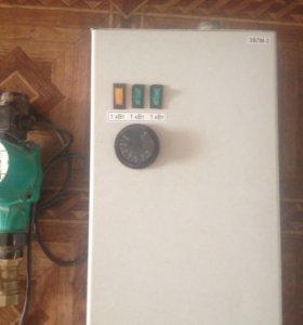 Электрокотел и электронасос