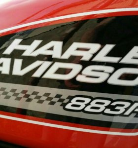 Harley-Davidson sportster XL883R