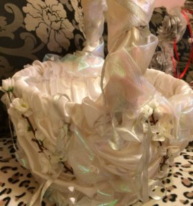 Свадебные карзины ручной работы