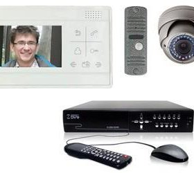 Установка домофонов, систем видеонаблюдения.
