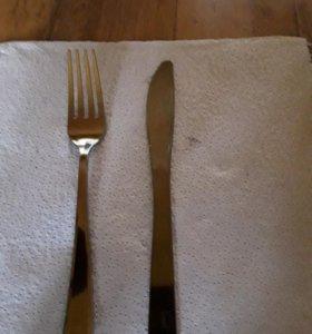 Ножи одноразовые метализированный