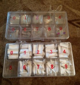 Пластиковые ногти для наращивания