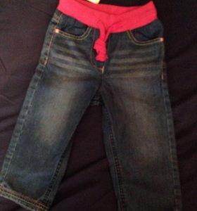 Новые джинсы 92 р