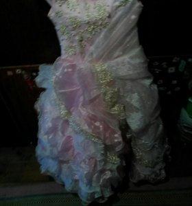 Розовые платья для девочек
