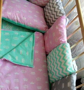 Сошью на заказ Бортик - подушки,постельное и ...