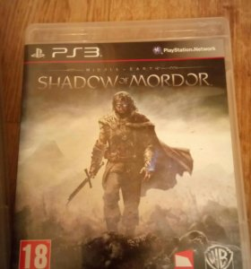 Middle-earth: shadow of Mordor для ps3