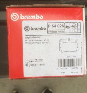 Brembo задние колодки