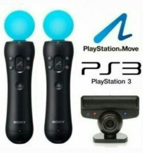 Move для playstation 3 + 6 игр для move