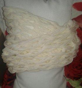 Продам шарф-снуд ручной работы