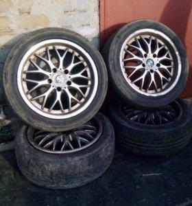 Литые диски Rondell 0058 R17 от BMW 5 серии