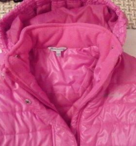 Пальто утепленное 122размер