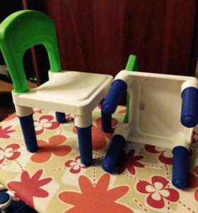 стульчики для куклы среднего размера,цена за штуку