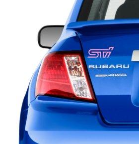 Наклейка STI Subaru Tehnica Intetnational
