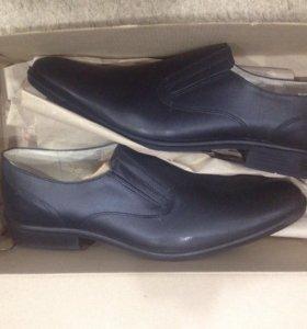 Туфли мужские.Кожаные.Размер 41.