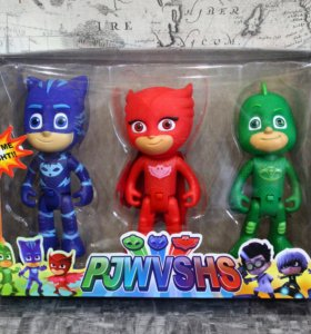 Герои в масках свет