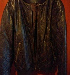Кожаная куртка Tru Trussardi